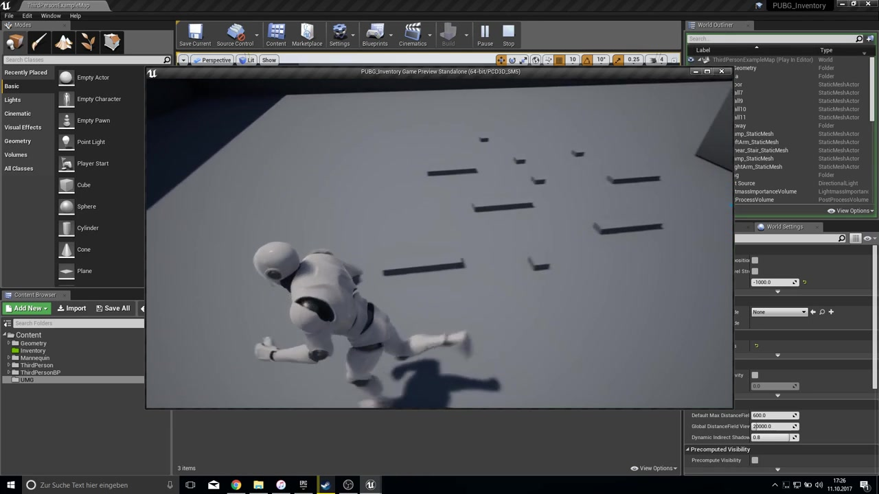 Unreal Engine 4 [PUBG] - Inventory Hover over objects #4