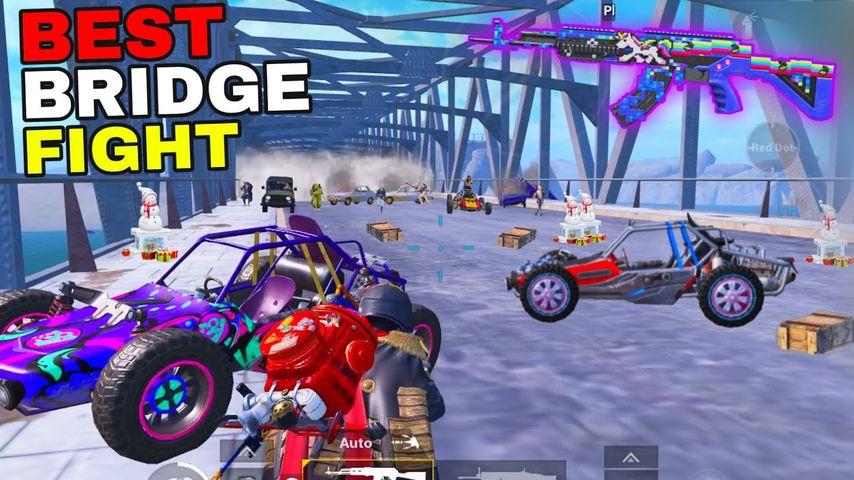 NEW BEST BRIDGE FIGHT in LAST ZONE!! | PUBG MOBILE | PUBG MOBILE | RUPPO