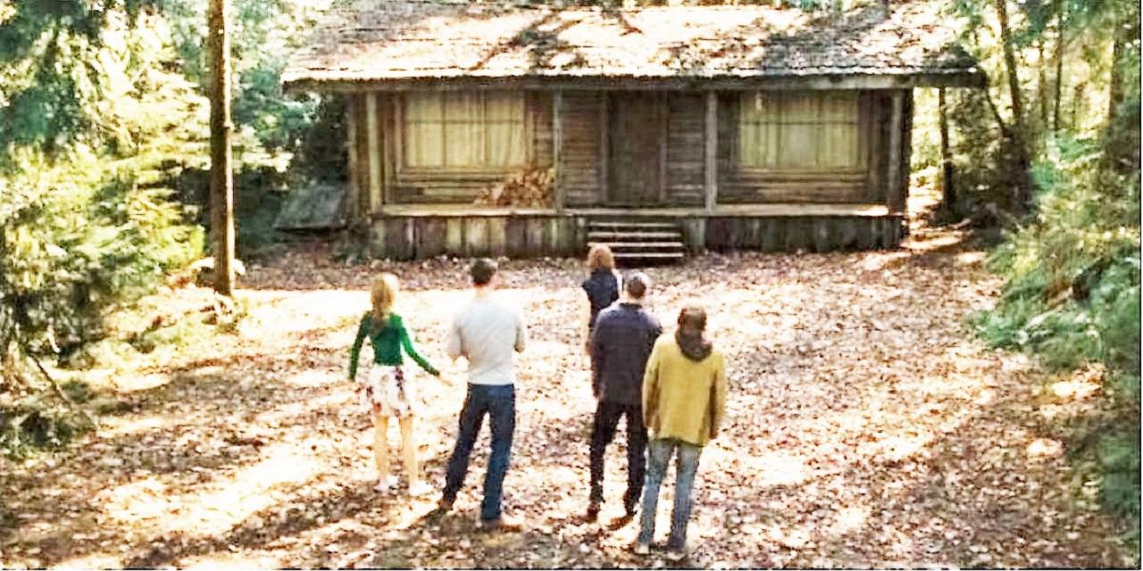 Хижина в лесу  / The Cabin in the Woods / 18+